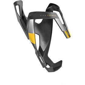 Elite Vico Flaskhållare Carbon gul/svart